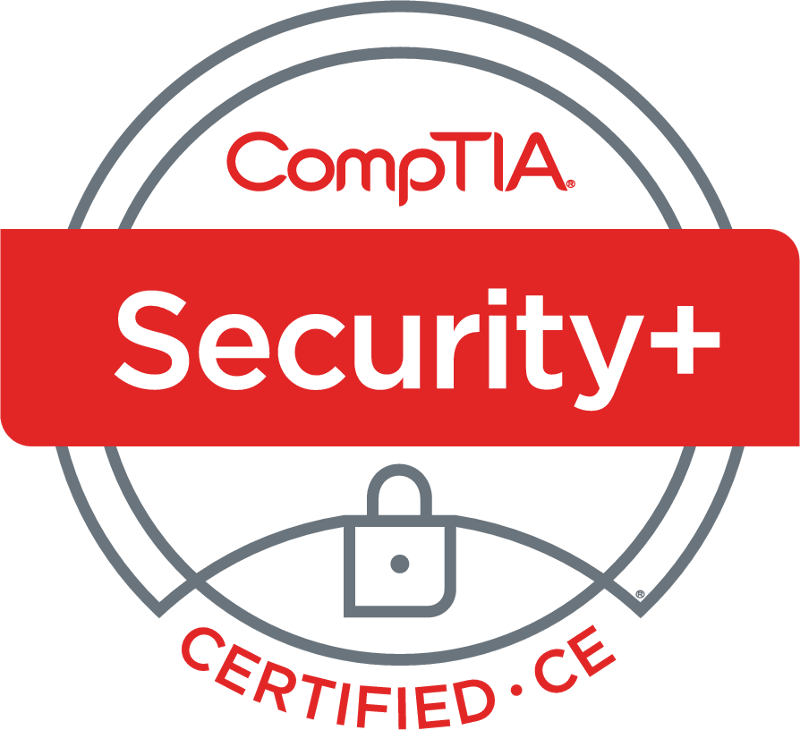 CompTIA Secure+ Certified